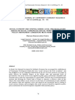 Ijccr-Vol-13-2009-Pp76-94-Freire - Social Economy and Central Banks - Legal and Regulatory Issues on Social Currencies (Social Money) as a Public Policy Instrument Consistent With Monetary Policy