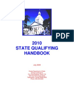 Florida 2010 State Qualifying Handbook