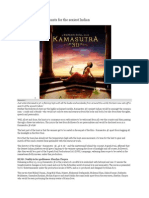 Kamasutra 3D Team Hunts for the Sexiest Indian