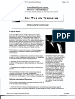 T2 B11 CTC Fdr- Entire Contents- CIA Info on DCI Counter Terrorist Center- 1st Pg for Ref 663