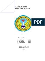 Laporan Resmi Praktikum Sublimasi Yeni Surawati (034), Tri Nuryani (031) Xii Ki 1