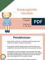 Konjugtivitis Vernalis (Syifa)