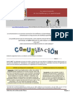 Comunica c i on Pedagogic A