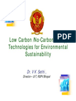 Low Carbon /No-Carbon Energy 