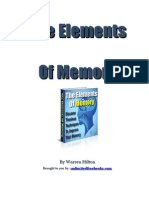 The Elements Of Memory