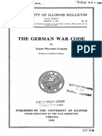 German War Code