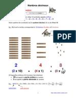 nombres décimaux (6ème)