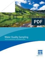 YSI Water Quality Sampling Products Catalog