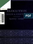 Elocution, Voice & Gesture