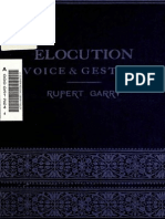 Elocution, Voice & Gesture