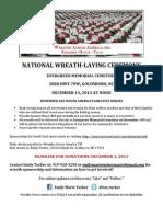 Wreaths Across America Flyer