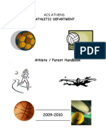 Athlete Parent Handbook