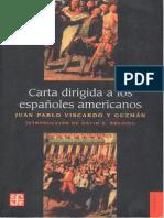01Carta dirigida a los españoles  Americanos