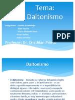 Diapositiva de Daltonismo