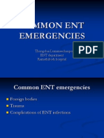 Common Ent Emergencies 24126