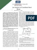 Finite Element Analysis of Castellated Steel - MR WAKCHAURE, A v SAGADE