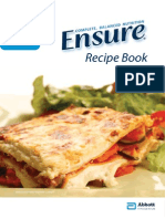 Ensure Recipe Book