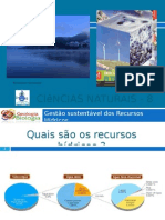 Powerpoint 1 - Recursos Hídricos