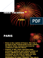 Ideal Vacation - Paris
