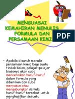 Cara Menulis Formula