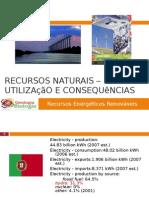 PPT5 - Recursos Energéticos Renováveis