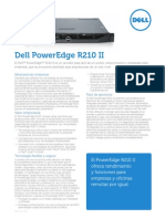 Poweredge R210 II Spec Sheet Es