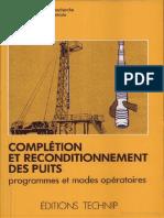 Complétion et reconditionnement des puits (2)