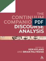 Continuum Companion to Discourse Analysis