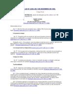 Código Penal Brasileiro (atualizado até 16 out 2013)