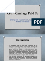 CPT - Carriage Paid To