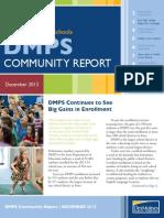 December 2013 DMPS Community Report