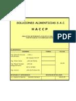 Haccp Linea de Galletas 2005 (SOAL SAC)