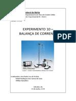 Relatório de Física III - Balança de Corrente