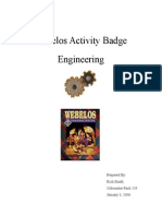 Engineer Activity Badge Outline 1