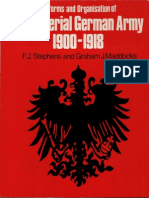 Almark Publications - Uniforms and Organisation of the Imperial German Army 1900-1918