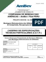 Edital Montagem Utilidades Peru
