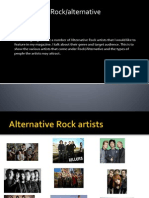 History of Rock/alternative