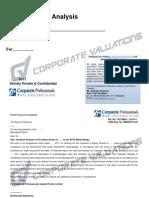 Sample Report DCF
