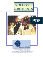 Urology Surgical Instruments Catalog