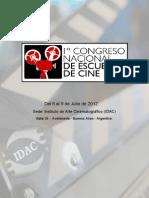1er Congreso Nacional de Escuelas de Cine