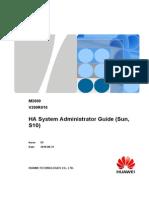M2000 HA System Administrator Guide (Sun, S10)