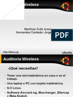 46163335 Auditoria Wireless