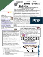 Bobcat Bulletin 12-2-13