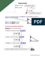 trigonométrie (3ème)