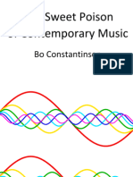 Bo Constantinsen - The Sweet Poison of Contemporary Music