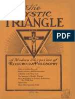 AMORC - The Mystic Triangle, July 1926