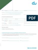 Du Authorization Letter Consumer