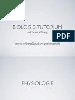Physiologie Und Entwicklung