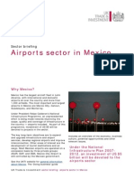Airports Sector in Mexico