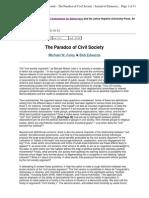 The Paradox of Civil Society